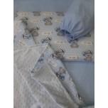 Комплект 4предмета в кроватку новорожденного