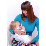 Джемпер флисовый для беременных и кормящих р.42