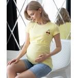 Футболка для беременных и кормящих р.50