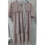 Платье свободное, поясок в комплекте р.50/52