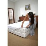 Непромокаемый наматрасник на двуспальнюю кровать
