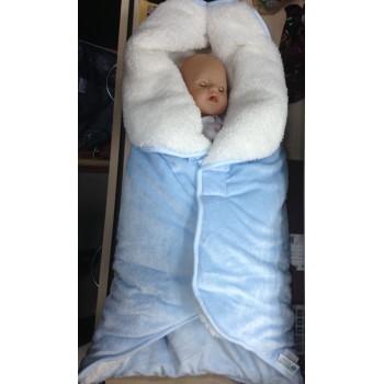 РОЗОВЫЙ Демисезонный конверт-трансформер для новорожденных